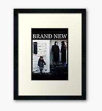 Brand New - The Devil and God Are Raging Inside Me Framed Print