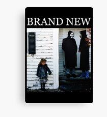 Brand New - The Devil and God Are Raging Inside Me Canvas Print