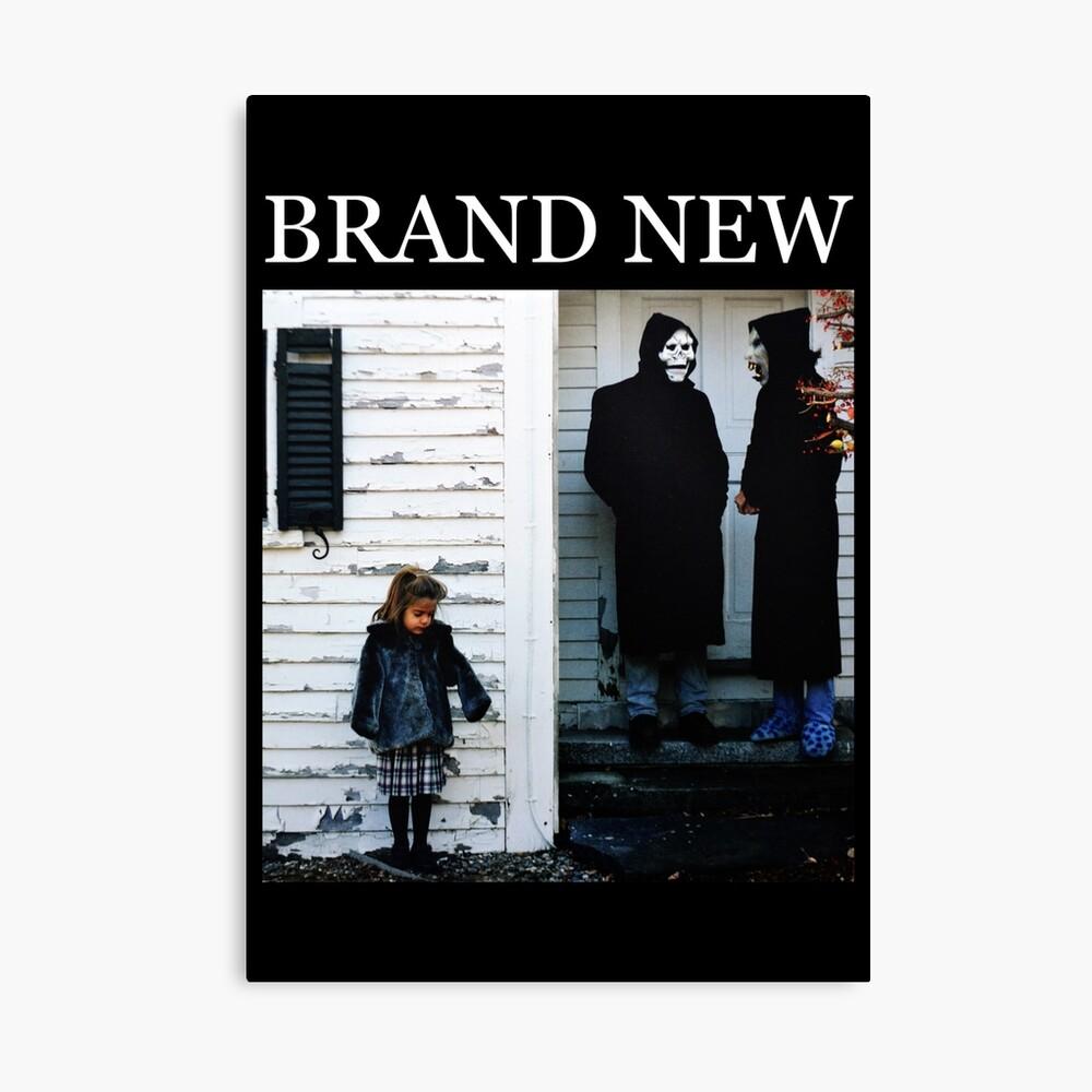 Brand New - Der Teufel und Gott sind in mir wütend Leinwanddruck