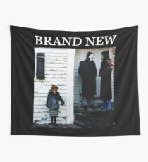 Brand New - The Devil and God Are Raging Inside Me Wall Tapestry