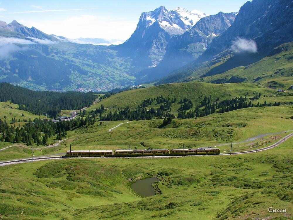 mountain journey by Gazza