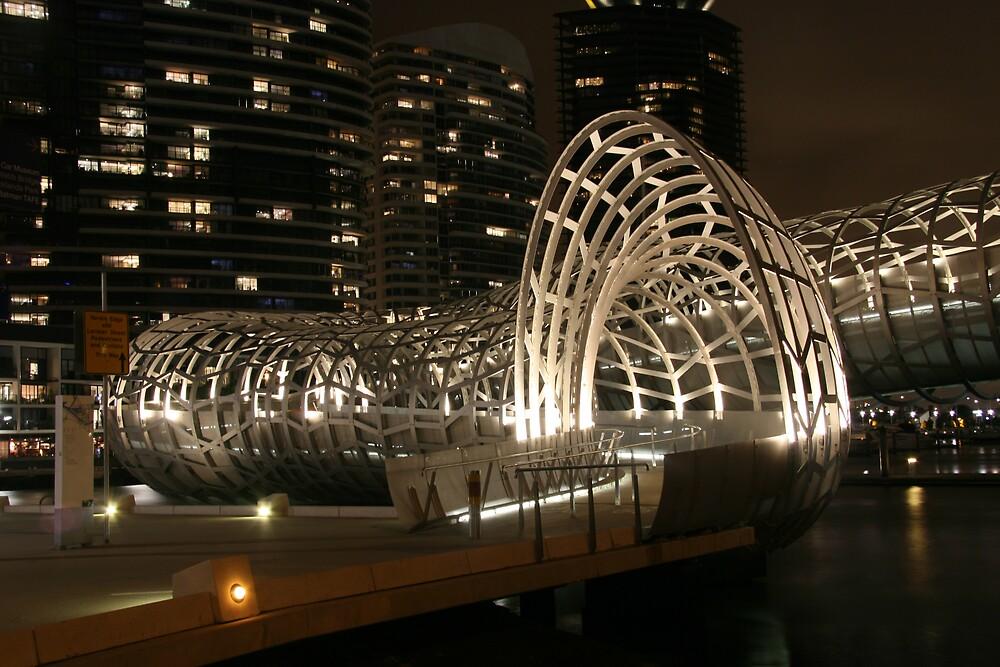 Webb Bridge by Lambros