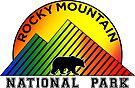 Rocky Mountain National Park Colorado Mountains Bear by MyHandmadeSigns