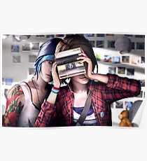 Max & Chloe - Smile - Life is Strange  Poster