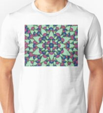 Pink and Blue Blooms T-Shirt
