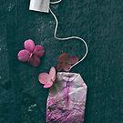 The Art of Tea on Black by OLIVIA JOY STCLAIRE