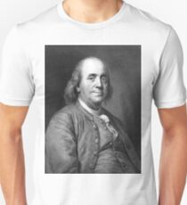 Engraved Benjamin Franklin (2) Unisex T-Shirt
