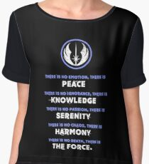 Jedi Code Women's Chiffon Top