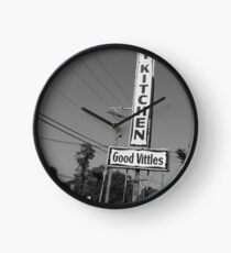 Good Vittles - Straight from the Kitchen Clock
