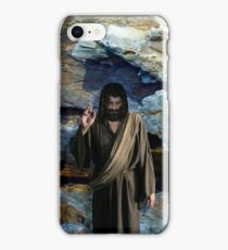 Jesus Christ: Be blessed and prosper iPhone Case/Skin