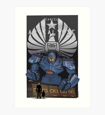 "Pacific Rim ""Cancel the Apocalypse"" Art Print"