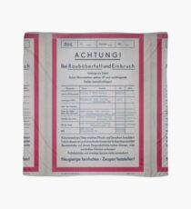 East German Police (Volkspolizei) 1971 - Emergency Call Poster Scarf