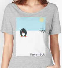 Maverick Penguin Women's Relaxed Fit T-Shirt