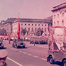 East German Communist Army at Berlin Wall, Celebration Parade - 2 by Remo Kurka
