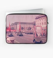 East German Communist Army at Berlin Wall, Celebration Parade - 2 Laptop Sleeve