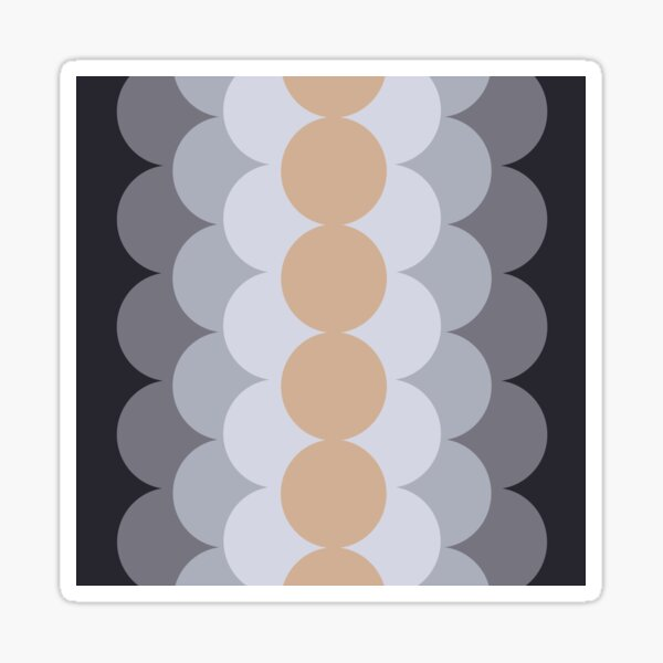Gradual Hazelnut  Sticker