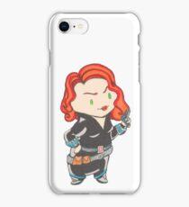 Black Widow Chibi iPhone Case/Skin