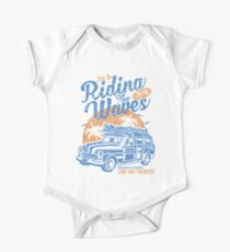 Holiday Car Retro Vintage Kids Clothes