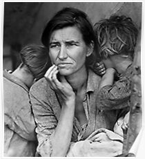 Great Depression Mother Poster