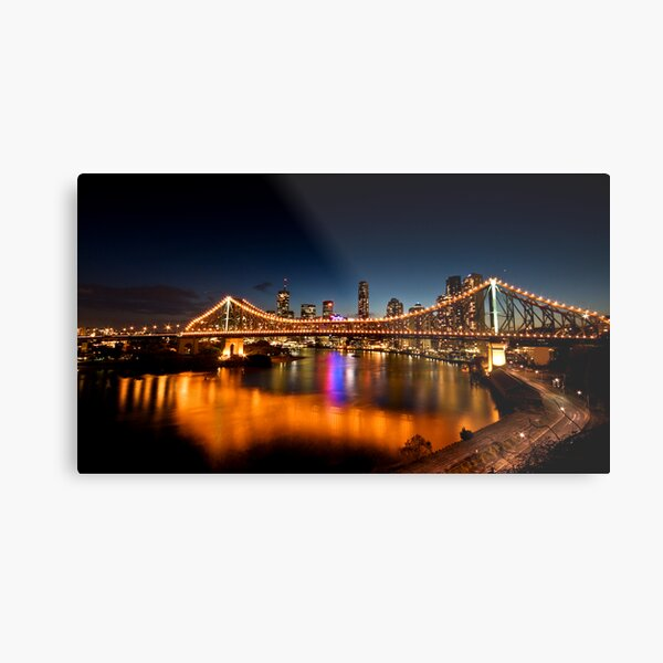 Story Bridge Metal Print