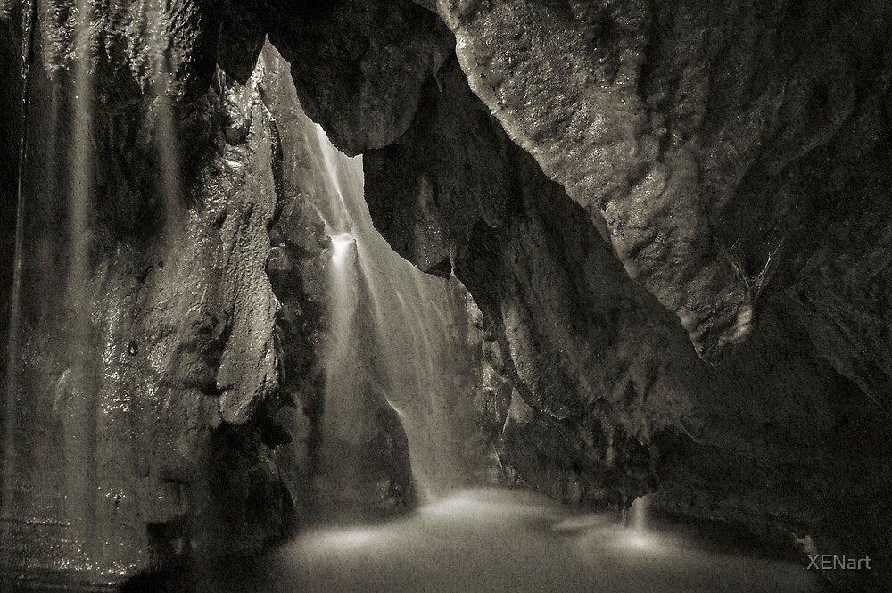 Inner waterfall by XENart