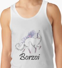 Ballet Borzoi Tank Top