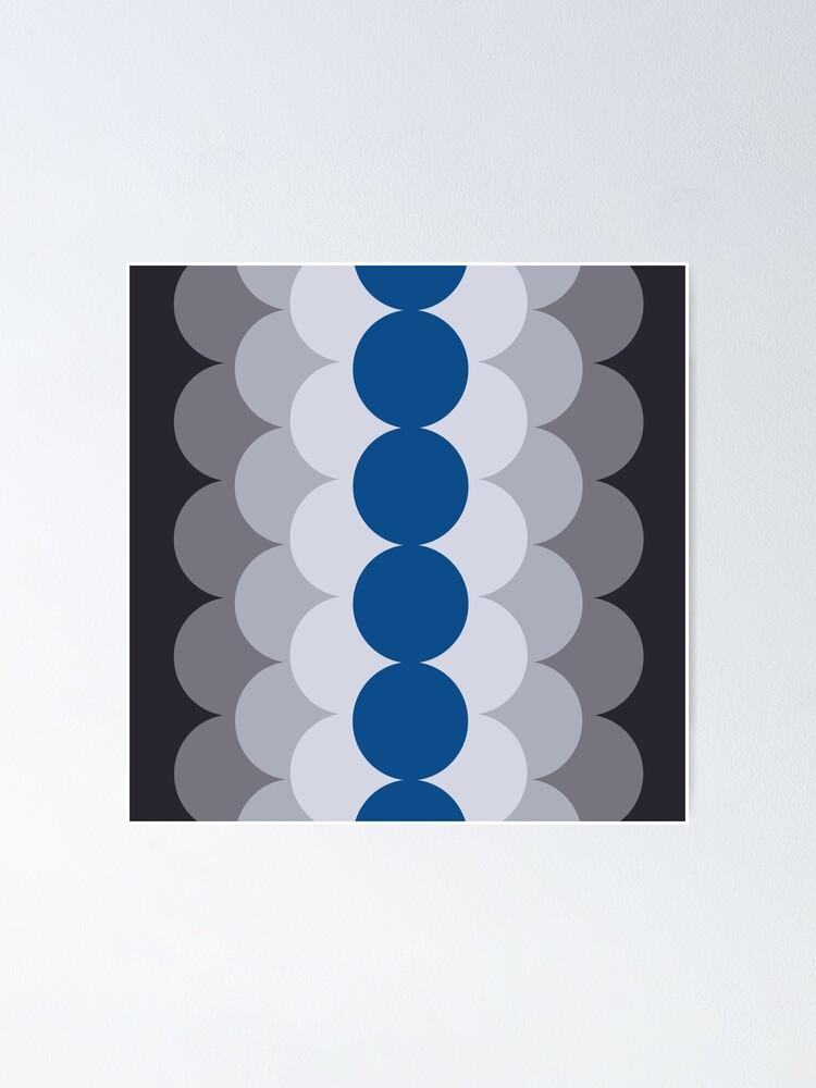 Alternate view of Gradual Lapis Blue Poster