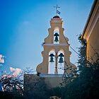 Monastery of Paleokastritsa on Corfu by Yukondick