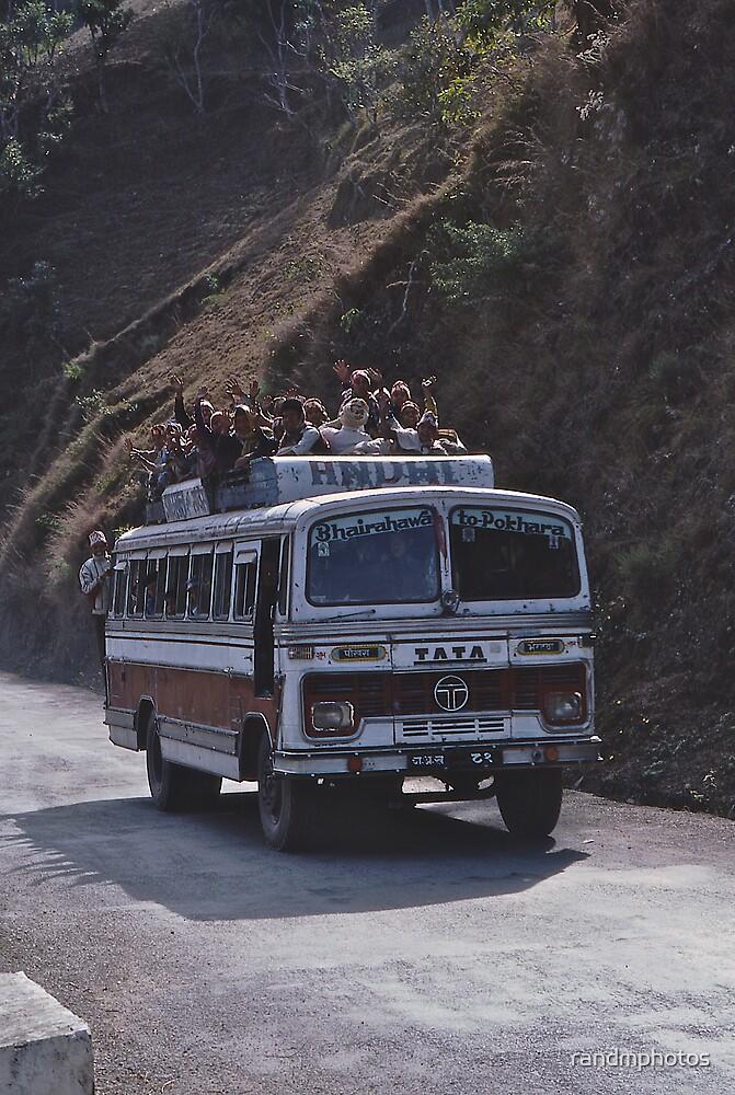The Pokhara Bus! by randmphotos