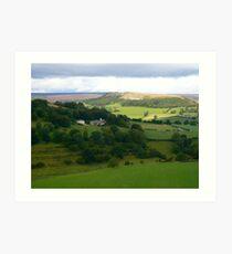 Vale of Hawnby Art Print