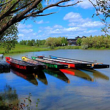 Drag Boats by umpa1