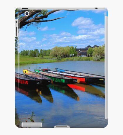 Drag Boats iPad Case/Skin