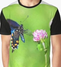 Pipevine Swallowtail Painting Graphic T-Shirt
