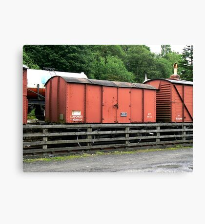 Hazardous Cargo Canvas Print