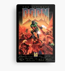 The Ultimate DOOM - Signature Edition Metal Print