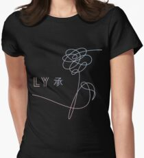 Camiseta entallada para mujer BTS Love Yourself