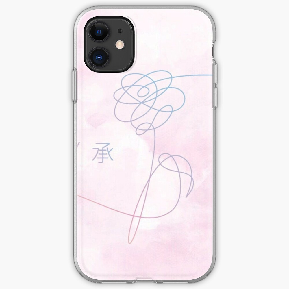 BTS Aquarell Liebe dich iPhone-Hülle & Cover