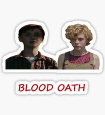 It 2017 blood oath Sticker