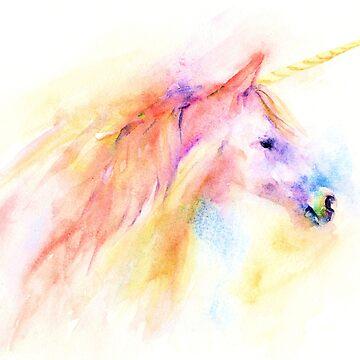 Unicorn by artlilly
