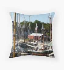 Windjammer Weekend Throw Pillow