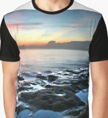 Tranquil Sunrise At Coral Cove Beach Graphic T-Shirt
