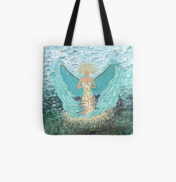 Tranquility  All Over Print Tote Bag
