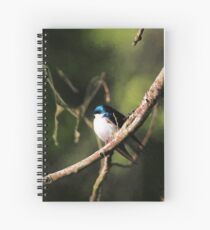 Tree Swallow Painting Spiral Notebook