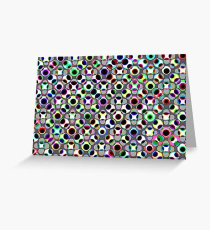 Dot Pattern 1 Greeting Card