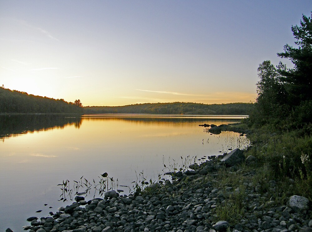 Northern Ontario Morning by marchello