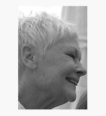 Dame Judi Dench number 3 Photographic Print