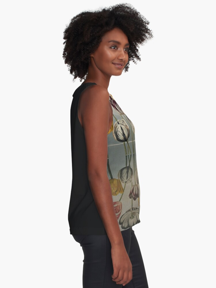 Alternate view of Still waters run deep - Digital Collage by Cecca Designs Sleeveless Top
