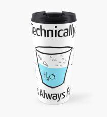 Science is Optimistic Travel Mug