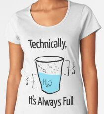 Science is Optimistic Women's Premium T-Shirt