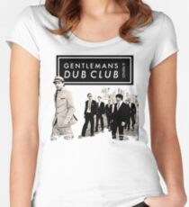 Dub Club For Gentleman's Friends Women's Fitted Scoop T-Shirt